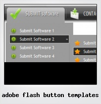 Adobe Flash Button Templates