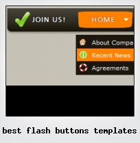 Best Flash Buttons Templates