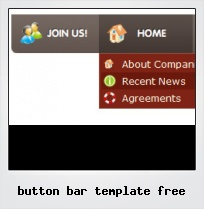Button Bar Template Free