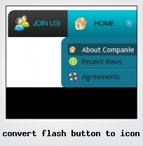 Convert Flash Button To Icon