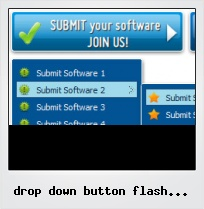Drop Down Button Flash Collapse Expand