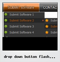Drop Down Button Flash Template