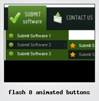 Flash 8 Animated Buttons