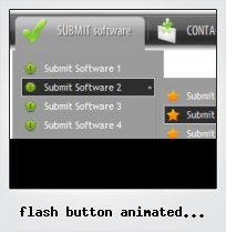 Flash Button Animated Movieclip