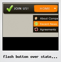 Flash Button Over State Problems
