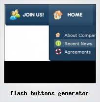 Flash Buttons Generator