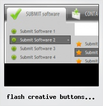 Flash Creative Buttons Examples