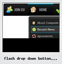 Flash Drop Down Button Tutorials