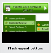Flash Expand Buttons