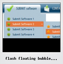 Flash Floating Bubble Button Source Code