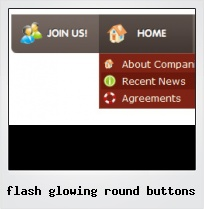 Flash Glowing Round Buttons