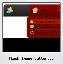 Flash Image Button Overlapping