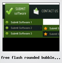 Free Flash Rounded Bubble Button