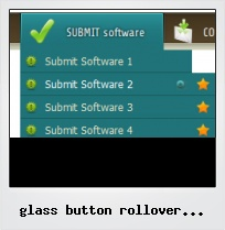 Glass Button Rollover Examples