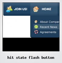 Hit State Flash Button