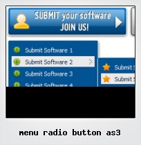 Menu Radio Button As3