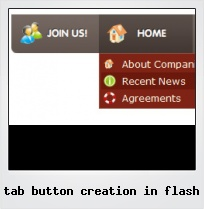 Tab Button Creation In Flash