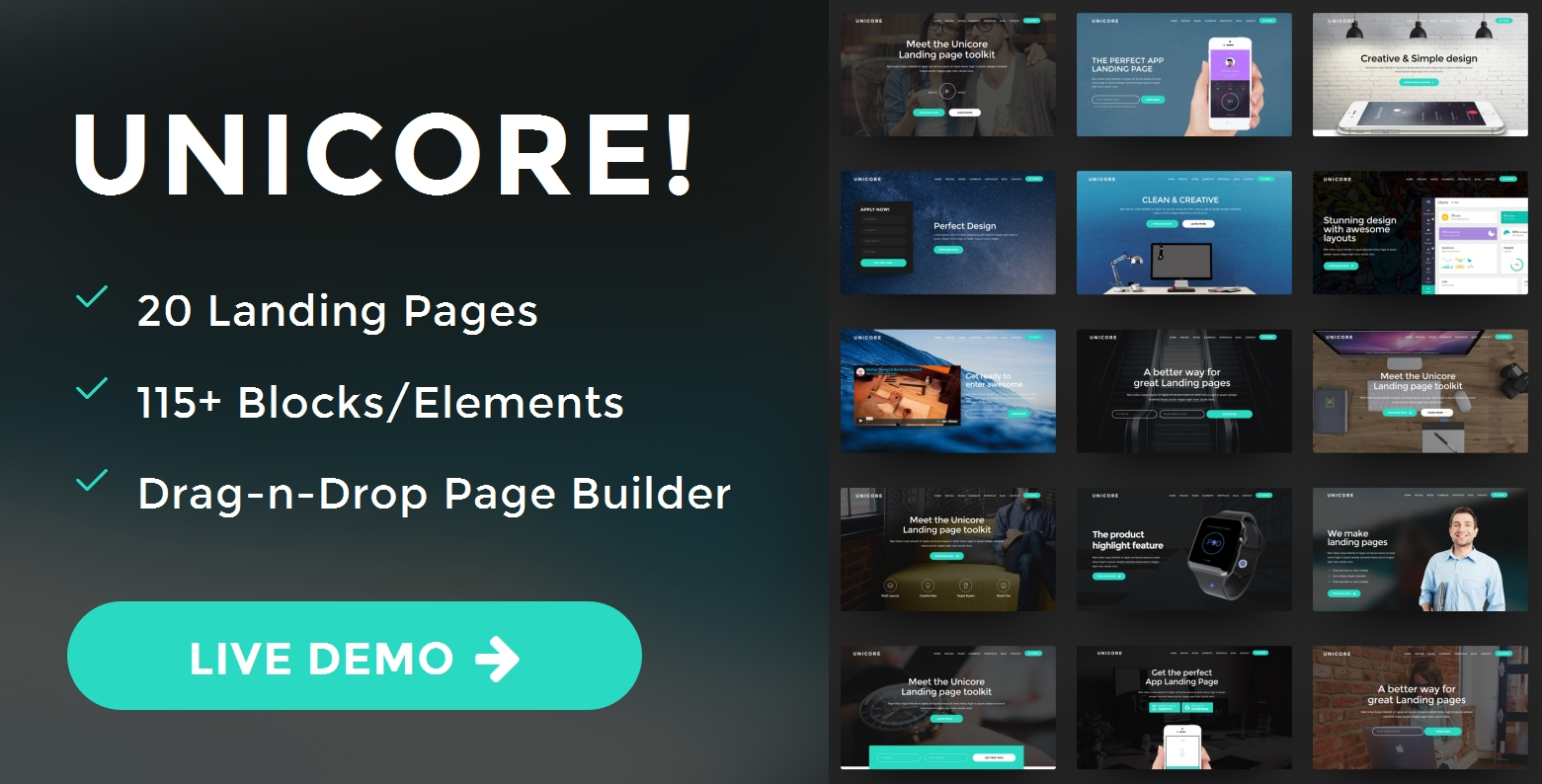 Best Bootstrap One Page Theme Creator