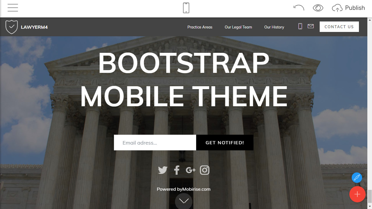 Responsive Website Theme